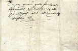 1607 Entire Letter, Privately Carried, No Postal Marking