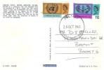 1965 United Nations & International Cooperation Year, Dunluce Castle Antrim Northern Ireland Postcard, Belfast FDI