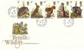 1977 British Wildlife, Post Office FDC, Baltasound Unst Shetland cds