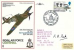 1970 RAF Coltishall 30th Anniversary of the Battle of Britain Commemorative cover, Signed by Air Vice Marshall Keith Park DFC