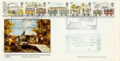 1980 Liverpool Manchester Railway, Havering Official FDC with Cachet