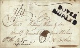 1786 Entire Ship Letter, DOVER /SHIP LRE, receiving Bishop Mark 18/SE, addressed to Bannockburn Nr. Stirling
