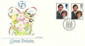 1981 Royal Wedding, Fleetwood FDC, First Day of Issue London EC H/S
