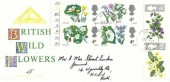 1967  Wild Flowers, North Herts. Stamp Club FDC, Hitchin Herts. cds
