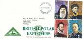 1972 British Polar Explorers, North Herts. Stamp Club FDC, Stevenage Herts. FDI