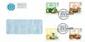 1989 Food & Farming Year, Saving the Ozone Layer Conference Envelope FDC, Ministry of Agriculture Fisheries & Food !00 Years London SW1 H/S