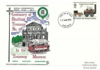 1975 Stockton & Darlington Railway, Dawn Centenary of Sheffield Tramcar No.15 FDC, 7p Stephenson's Locomotion stamp only, Sheffield FDI