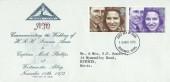 1973 Royal Wedding, North Herts. Stamp Club FDC, Stevenage Herts. FDI