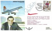 1980 International Air Tattoo Greenham Common British Forces 1700 Postal Service H/S on Special Brian Trubshaw Cover, signed by Peter Baker Pilot