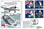 1988 Australian Bicentenary, FAA Museum RNSC(5)10 Official FDC, 48th Anniversary of the Bombardment of Bardia H/S, Signed