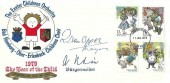 1979 Year of the Child, Exeter Children's Orchestra FDC, Exeter District FDI, Signed by the Mayor of Exeter & The Burgermeister of Bad Homburg, Exeter's Twin City