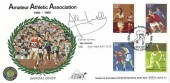 1980 Sporting Anniversaries, Benham BOCS 23 Official FDC, Amateur Athletic Association Crystal Palace London SE19 H/S, Signed by Allan Wells