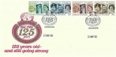1986 Caring & Sharing Colchester & East Essex Co-operative Society 125 Years Commemorative Cover, Caring & Sharing Colchester Co-op H/S