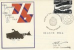 1976 Royal Engineers Mobile Display Team Tour 1976 Biggin Hill Cover, Signed