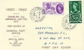 1960 General Letter Office, Display FDC, Carlisle Cumberland cds