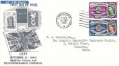 1960 Europa, Illustrated FDC, London FS Cancel