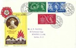 1957 Scout Jubilee Jamboree, Francis J Field FDC, House of Lords SW1 cds