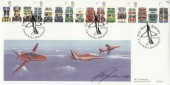 2001 Buses BHC Signed by Red Arrows Pilot Official FDC