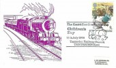 1979 Year of the Child, J & M Arlington Ltd FDC, 9p Peter Rabbit stamp only. The Kent & East Sussex Railway Children's Day Tenderden Railway Station Tenderden Kent H/S