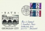 1964 Forth Road Bridge, Bath Pulteney Bridge FDC, Phosphor Set, Guid Passage The Forth Road Bridge North Queensferry H/S