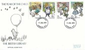 1979 Year of the Child, British Library FDC, London WC FDI
