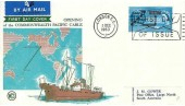 1963 Commonwealth Cable (Compac), WCS FDC, First Day of Issue London EC Slogan