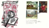 1967 Paintings, Philart Stamp Collector FDC, Manchester FDI