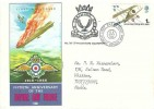 1968 British Anniversaries 50th Anniversary RAF Philart Air Training Corps No.267 Twickenham Squadron FDC 1s RAF stamp only First Day of Issue Hendon London NW4 H/S