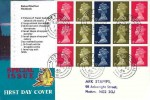 1969 £1 Stamps for Cooks, Se-Tenant Pane, Big Ben Special Issue FDC, Nottingham 8 cds
