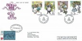 1979 Year of the Child, Festiniog Railway Company FDC, Festiniog Railway Company cds+ 15p Railway Letter fee stamp