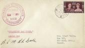 1937 King George VI Coronation, Canadian Coronation Contingent FDC, Pirbright Camp Pirbright Woking Surrey cds