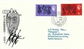 1965 Commonwealth Art Festival, BPA / PTS Illustrated FDC, Fareham Hants.cds