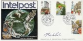 1985 Royal Mail 5th Anniversary Intelpost London E1 FDC. Signed by John Becklake