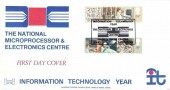 1982 Information Technology Allen, Havering No.28 Official FDC, Information Technology Year The National Electronics Centre World Trade Centre London E1 H/S
