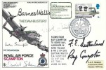 1970 The Dam Busters 617 Squadron RAF Scampton Cover, Commemorating the Formation 617 Squadron BF 1130 PS H/S, Flown Cover, signed by Barnes Wallis and others