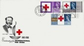 1963 Red Cross Centenary BPA / PTS FDC, First Day of Issue Liverpool Slogan
