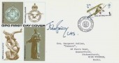 1968 British Anniversaries, GPO FDC, 1s RAF Stamp only, First Day of Issue Hendon London NW4 H/S, signed by Marshall Royal Air Force Sir John Grandy MRAF