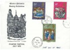 1970 Christmas, Chester Philatelic Society Exhibition FDC, Stratford Road Chester cds