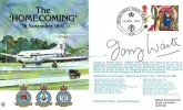 1991 RAF Lyneham The 'Homecoming' British Forces Postal Services 1000 H/S., Signed by Terry Waite