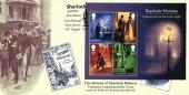 2020 Sherlock Holmes Miniature Sheet, Covercraft The Return of Sherlock Holmes FDC, Sherlock GBFDC Association Crowborough East Sussex H/S