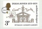 1973 Indigo Jones, Royal Mail PHQ card FDC, used on the front, London EC FDI