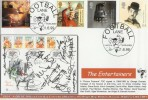 1999 Entertainers' Tale GBCovers Official Football GB24 FDC