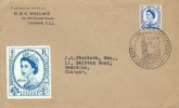 1957 Parliamentary Conference, H & A. Wallace Stamp Dealers Envelope FDC, 46th Parliamentary Conference London SW1 H/S