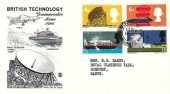 1966 British Technology Stuart FDC, Gosport Hants. cds