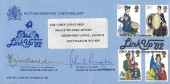 1982 Nottingham Police Constabulary Cover, Police & Community Link Up 82 Forest Recreation Ground Nottingham H/S, Signed by Chief Constable & Sheriff of Nottingham