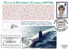 1998 Diana Princess of Wales, Royal Naval Cover Group FDC, Single 26p stamp only, HM Ships Cornwall & Vanguard Remember with Pride Diana Princess of Wales Devonport Plymouth H/S, Signed
