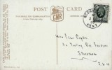 1935 4d Grey Green King George V Definitive Issue, GNR Express Passenger Engine No.272 Postcard FDC, Rochester Kent cds