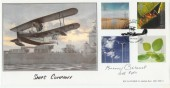 2000 Life & Earth BHC Official FDC. Signed by Wing Commander Bunny Currant