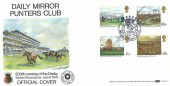 1979 Horse Racing, Benham BOCS11 Daily Mirrors Punters Club Official FDC, Derby 200 Epsom Surrey H/S