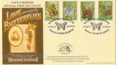 1981 Butterflies Markton Stamps Castle Museum Norwich Official FDC